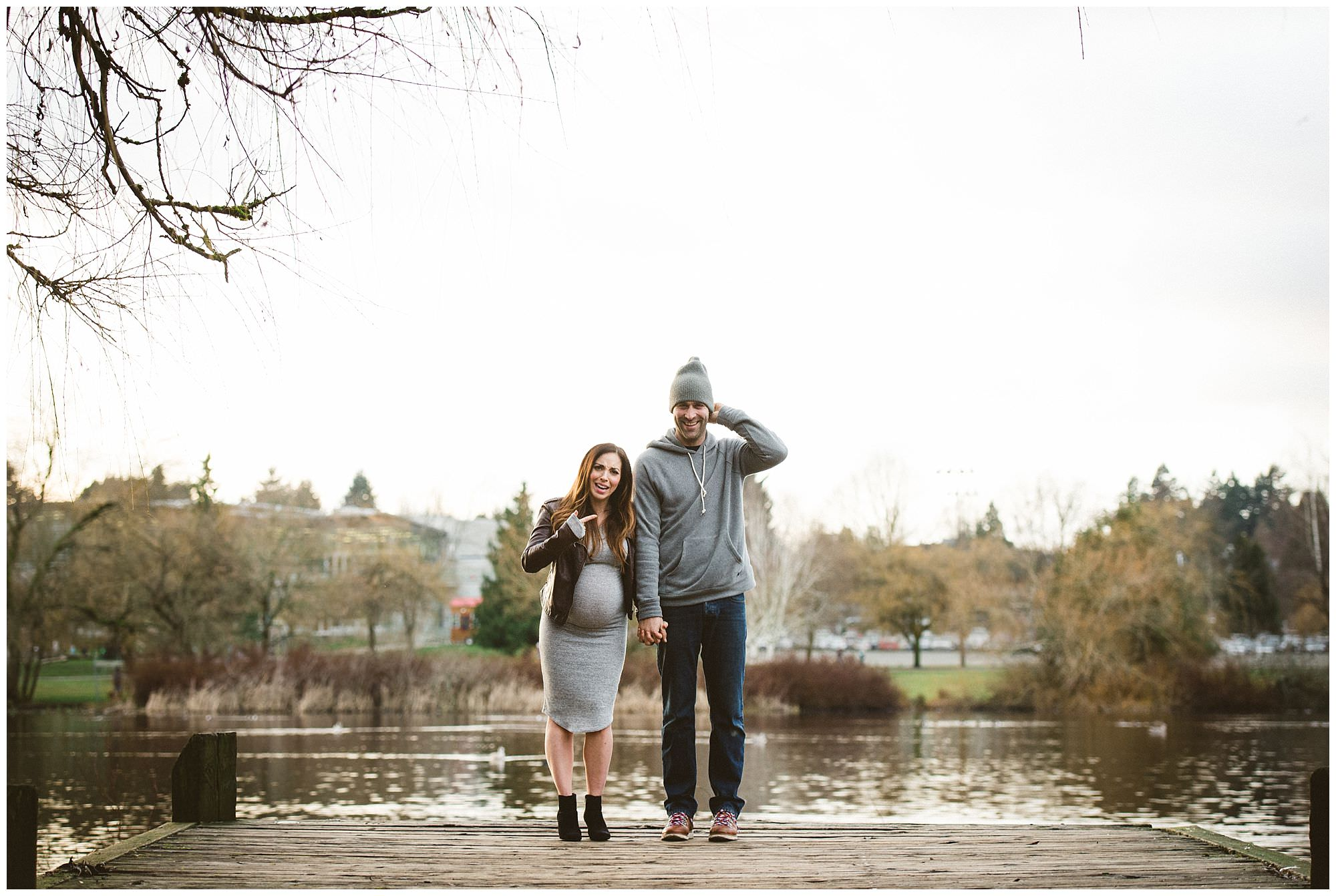 couple-during-maternity-session-Trout-Lake-Park-Vancouver