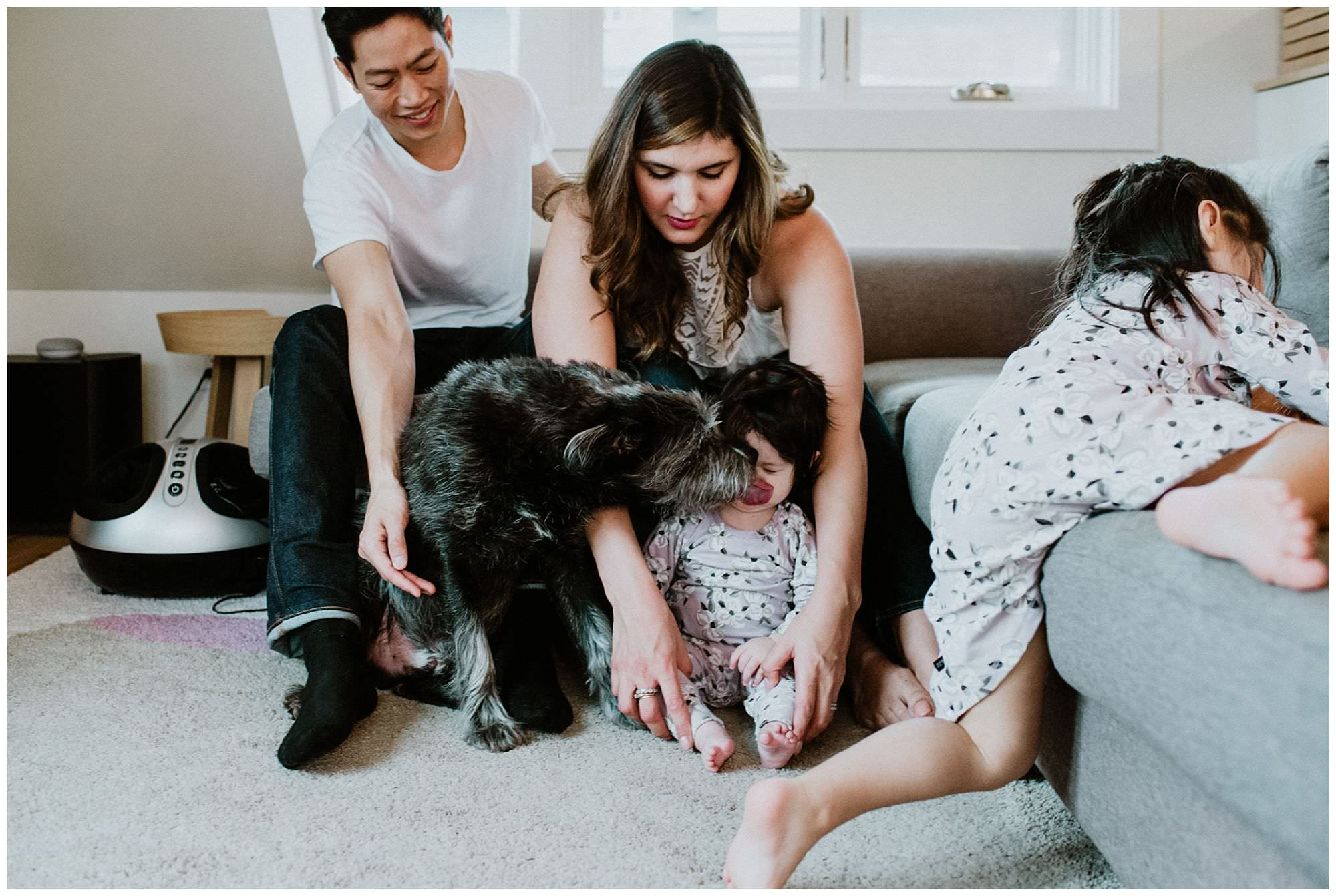 family-with-dog-candid-Vancouver