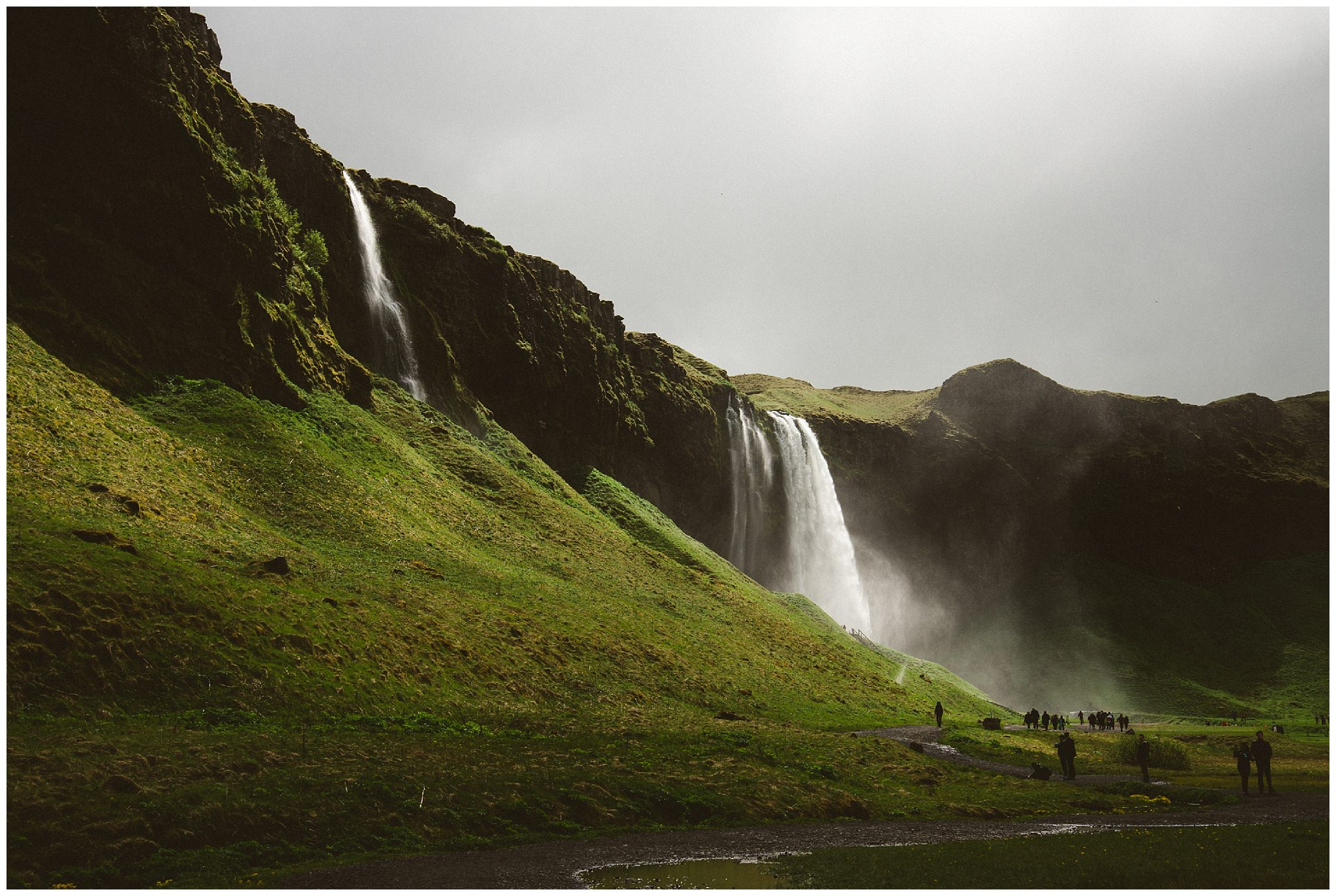 Iceland, Iceland wedding photographer, destination wedding photographer, travel photography, bc wedding photographer, Vancouver wedding photographer, Ronnie Lee Hill Photography, waterfall, south coast Iceland, ring road