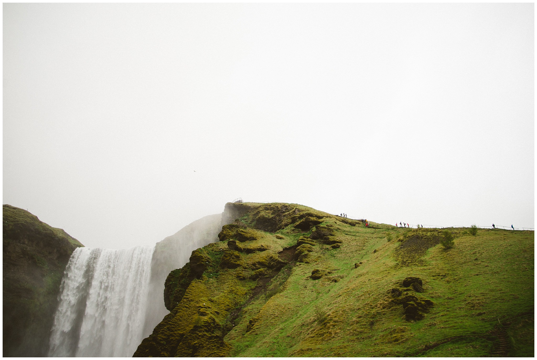 Iceland, Iceland wedding photographer, destination wedding photographer, travel photography, bc wedding photographer, Vancouver wedding photographer, Ronnie Lee Hill Photography, Skogafoss, waterfall