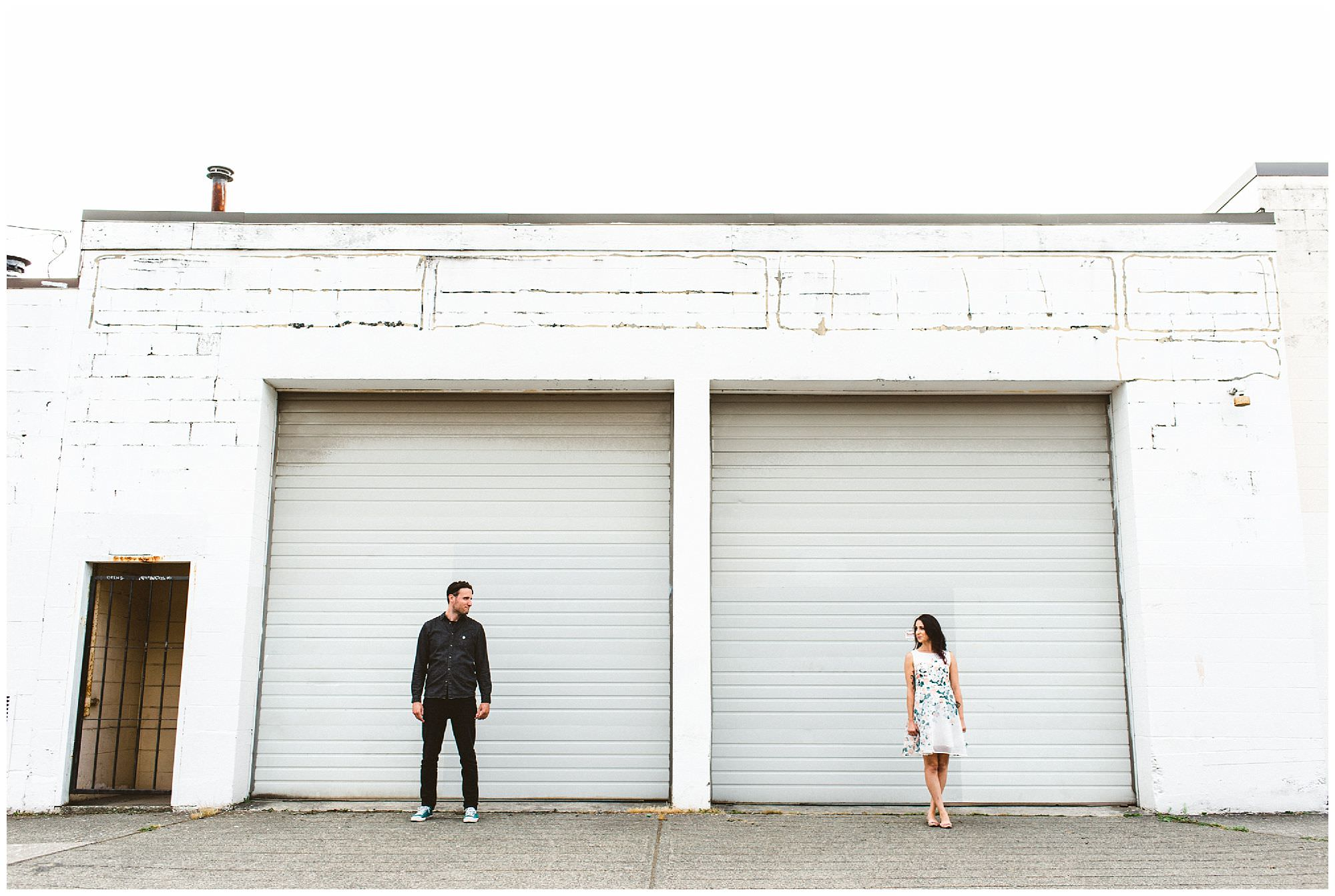 East Vancouver engagement photographer, casual engagement session