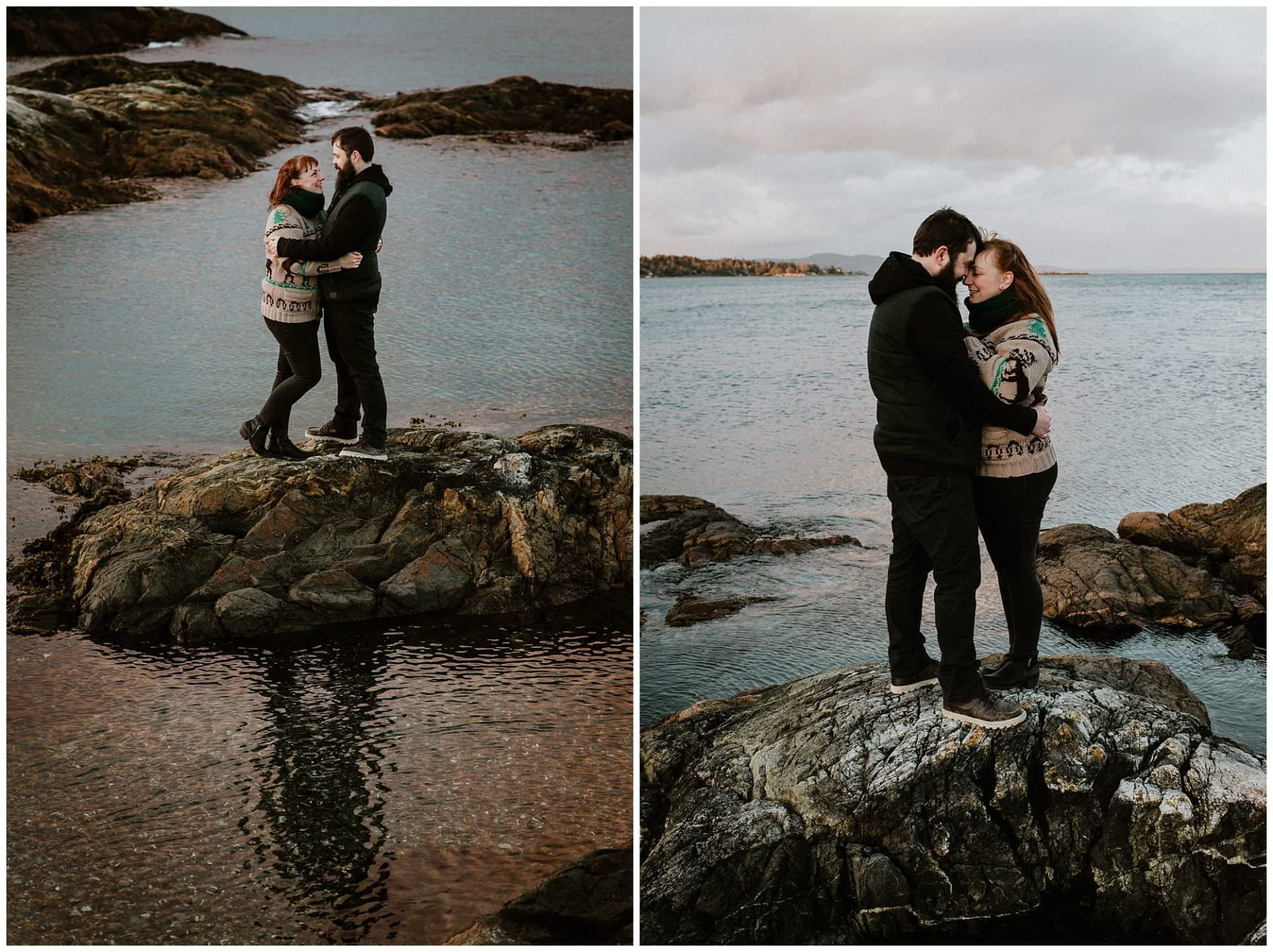 casual-sunset-engagement-photography-at-cattle-point-victoria-bc