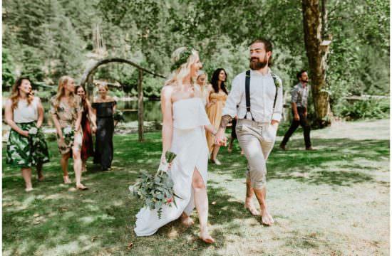 best Vancouver wedding photographers, Sunshine Coast wedding photographer, boho wedding, ruby lake wedding, candid wedding photography, ronnie lee hill photography, outdoor wedding, simple wedding dress