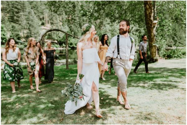 best Vancouver wedding photographers, Sunshine Coast wedding photographer, boho wedding, ruby lake wedding, candid wedding photography, ronnie lee hill photography, outdoor wedding, simple wedding dress