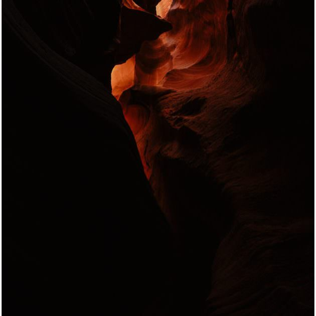 antelope canyon, arizona, canyon x