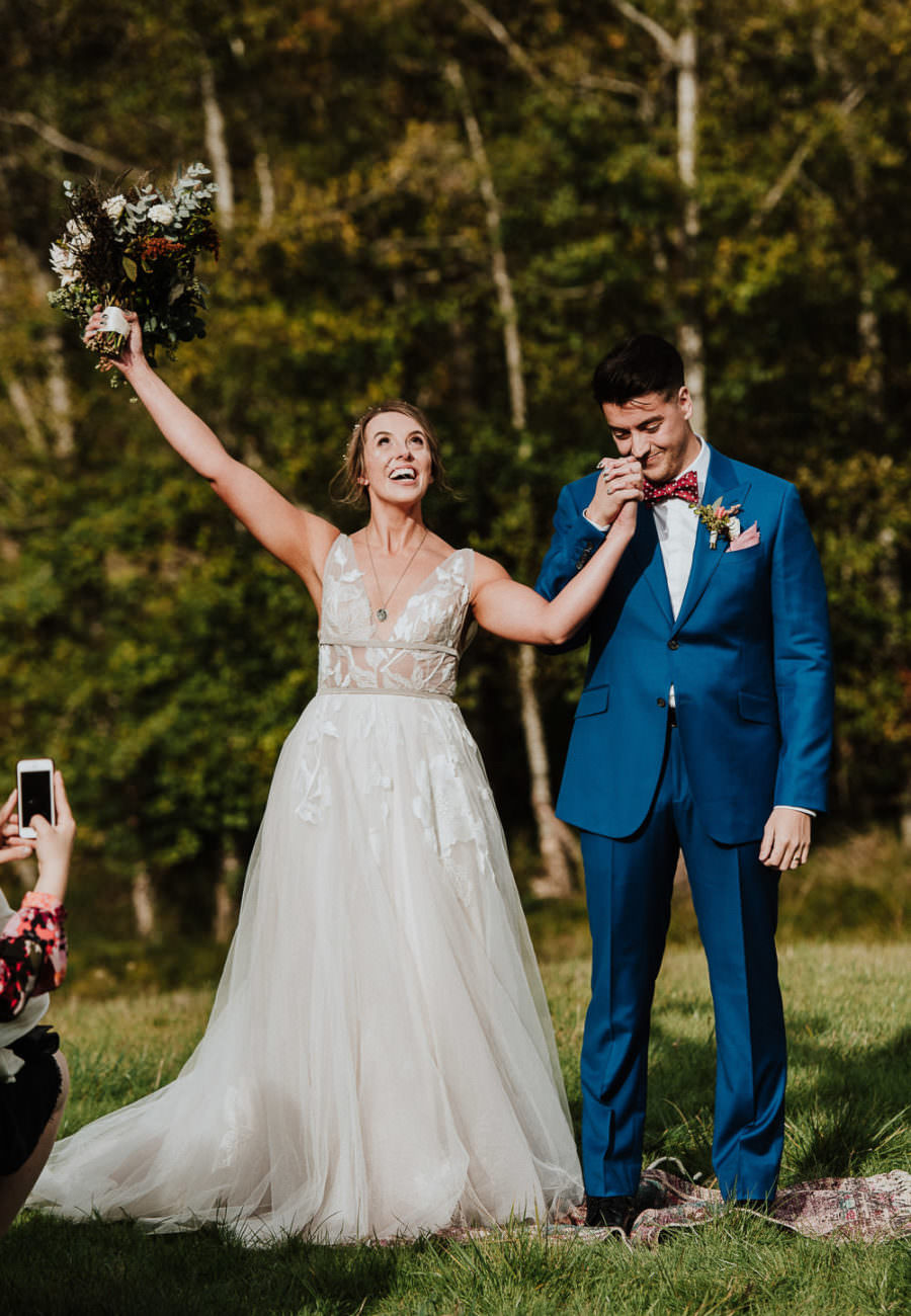 Birds Eye Cove Farm Wedding photographer