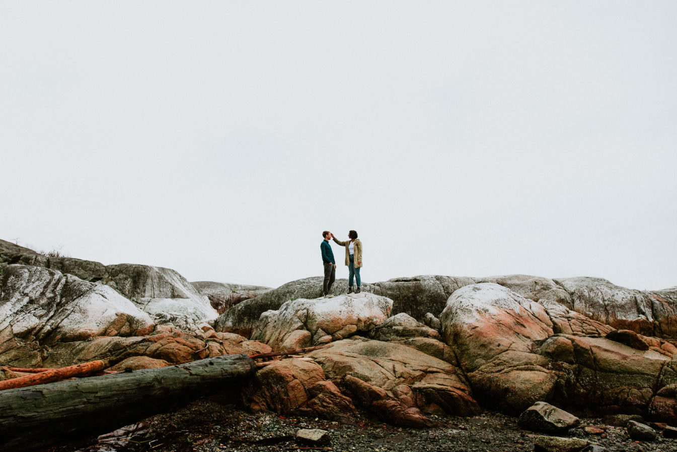 Engagement photos at Lighthouse Park Vancouver BC, best vancouver wedding photographer