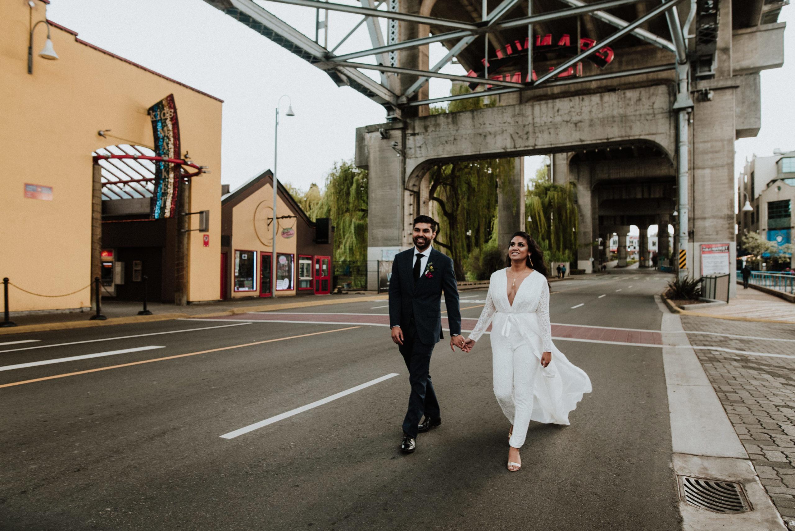 Granville elopement photography