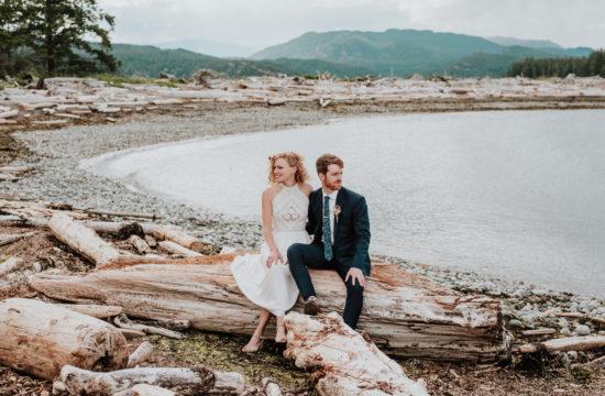 elopement wedding on Quadra Island BC
